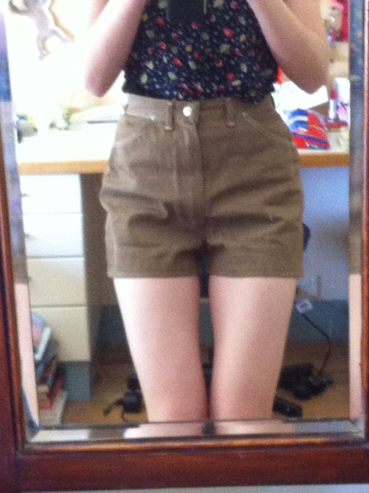 1950s vintage wrangler shorts