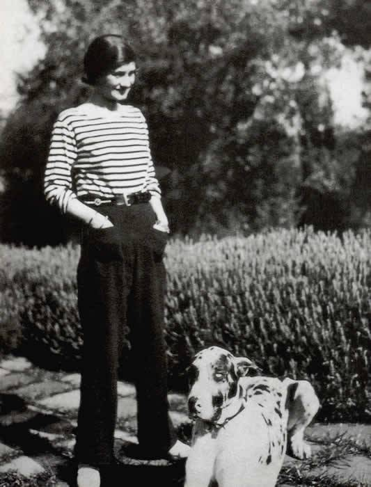coco chanel trousers