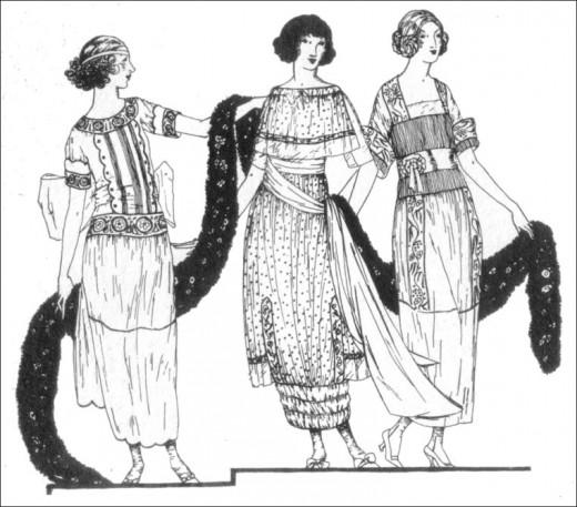 1919 day dresses