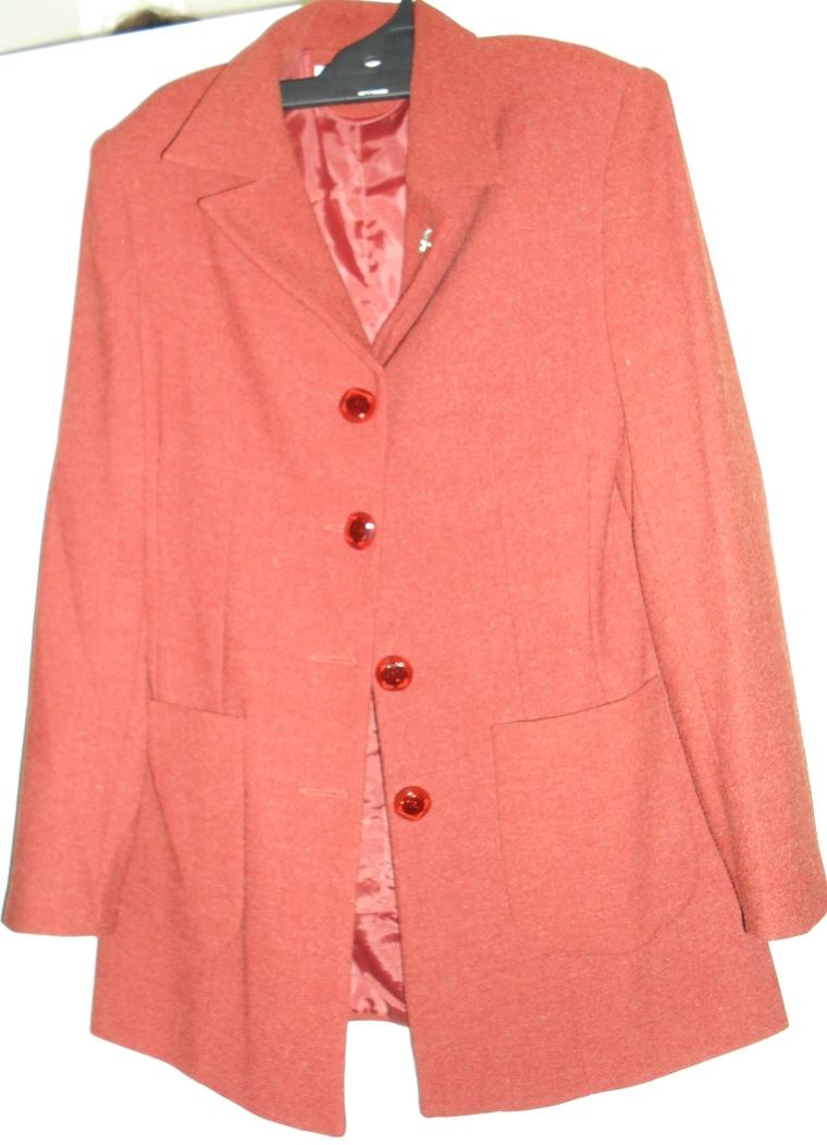 Burnt Orange Coat