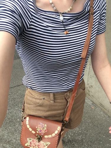 ootd vintage shorts