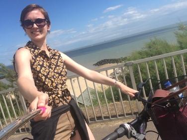 Clacton bike ride.