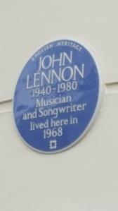 John Lennon's flat London