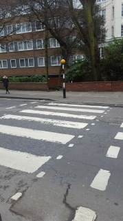 The Beatles Crossing from Abbey Road
