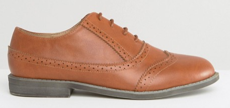 Brown Asos Brogues