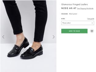 black fringed loafers glamorous